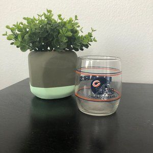 Chicago Bears Glass Cup
